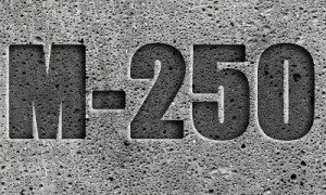 бетон и 250